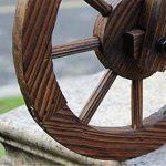 CYJZ® Pot de fleurs Jardinage flotteur à trois roues Carbure Protection du bois Bac à fleurs Résistant à la corrosion (Couleur : #3) de la marque GAPHUAJIA image 3 produit