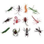 D DOLITY 12pcs Insectes Réalistes Faune Animaux Marins Figures Jouet pour Enfants Cadeau D'anniversaire de la marque D DOLITY image 1 produit