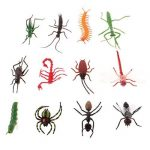 D DOLITY 12pcs Insectes Réalistes Faune Animaux Marins Figures Jouet pour Enfants Cadeau D'anniversaire de la marque D DOLITY image 2 produit