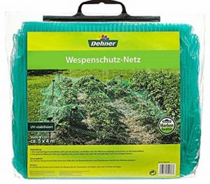 Dehner 4023529Wespe Filet de protection, plastique, vert, 37x 31x 10cm de la marque Dehner image 0 produit