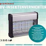 Destructeur d'insectes avec 2lampes UV–Moustiquaire sans utilisation des produits chimiques. 2 x 6 Watt de la marque PROMINENT Insektenvernichter image 2 produit