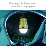 Dewel Lampe Anti-Moustiques 2 en 1 sans Fils Pièges à Moustiques 3W avec Éclairage 4W Imperméable IP44 Accroché pour Camping Extérieur de la marque Dewel image 3 produit