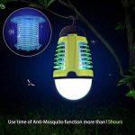 Dewel Lampe Anti-Moustiques 2 en 1 sans Fils Pièges à Moustiques 3W avec Éclairage 4W Imperméable IP44 Accroché pour Camping Extérieur de la marque Dewel image 4 produit
