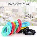Diswoe Bracelets Anti-Moustiques, Bracelets Anti Moustique pour Adultes et Enfants, 100% Naturels Huiles essentielles, Lot DE 10 de la marque Diswoe image 2 produit