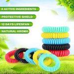 Diswoe Bracelets Anti-Moustiques, Bracelets Anti Moustique pour Adultes et Enfants, 100% Naturels Huiles essentielles, Lot DE 10 de la marque Diswoe image 3 produit