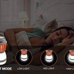 Divo LED Lanterne de camping Mosquito Zapper lumière de tente, IP67étanche et rechargeable USB, anti Bug Insectifuge, abat-jour amovible avec 3lampes Mode de la marque Divo image 1 produit