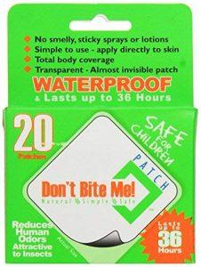 Don't Bite Me DBMP20 Pack de 20 patches anti-insectes de la marque Don't Bite Me Patch image 0 produit