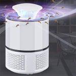 Dr Nezix Mosquito Lampe Zapper, USB Alimenté Non-Chimique Électronique Mosquito Catcher Piège Lampe, Intérieur Extérieur Maison Jardin Patio Inhaled Moustique Mouche Insecte Bug Killer USB Chargeur de la marque Dr Nezix image 3 produit