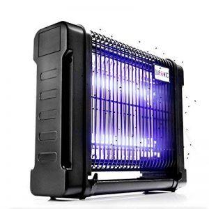 Duronic FK8412 Destructeur / piège d'insectes / mouches / moustiques avec 2 lampes ultraviolet de 6W – auto portatif ou mural de la marque Duronic image 0 produit