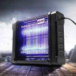 Duronic FK8412 Destructeur / piège d'insectes / mouches / moustiques avec 2 lampes ultraviolet de 6W – auto portatif ou mural de la marque Duronic image 1 produit