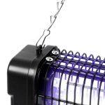 Duronic FK8412 Destructeur / piège d'insectes / mouches / moustiques avec 2 lampes ultraviolet de 6W – auto portatif ou mural de la marque Duronic image 4 produit