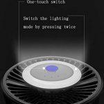 DZW Volant Tueur, LED UV Violet Source Lumineuse Intelligent Lumière Contrôle Illumination Imitation Humain Corps Température Mosquito Tueur Fly Lumière Insectifuge Ménage de la marque DZW image 2 produit