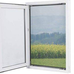 Easymaxx 03771Magic Click fenêtre Moustiquaire | protection contre les insectes | avec aimants Click-On | semi-transparent | à découper | Noir de la marque EASYmaxx image 0 produit