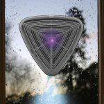 Easymaxx électrique solaire muecken cas triangulaire 1,2V Répulsif Insectes cas gris avec veilleuse de la marque EASYmaxx image 1 produit