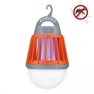ENKEEO Lampe de Camping Anti Moustiques Lanterne Anti Moucheron Etanche avec 2000mAh Batterie Rechargeable de la marque ENKEEO image 0 produit