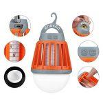 ENKEEO Lampe de Camping Anti Moustiques Lanterne Anti Moucheron Etanche avec 2000mAh Batterie Rechargeable de la marque ENKEEO image 1 produit