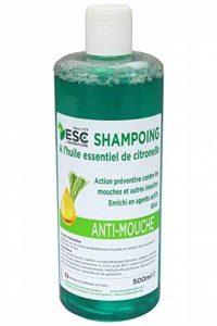 ESC Equitation - Shampooing Anti-Mouche - 500 ml - A l'huile essentielle de Citronelle. de la marque ESC Laboratoire image 0 produit