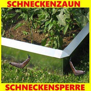 Escargot Clôture type 2, 90° Élément d'angle–Escargots Stop sans produits chimiques de la marque C & C Gartenbedarf image 0 produit