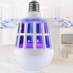 Etbotu Ampoule LED anti-moustique 2 en 1, Attire, grille et tue les moustiques, E2715W de la marque Etbotu image 1 produit
