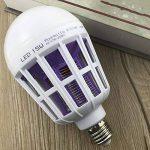Etbotu Ampoule LED anti-moustique 2 en 1, Attire, grille et tue les moustiques, E2715W de la marque Etbotu image 4 produit