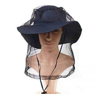 Extérieur élastique insectes Head Net Mesh Masque Anti Mosquito / Bee - Noir de la marque Blancho image 0 produit