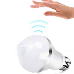 flintronic Ampoule LED E27 7W, PIR Infrarouge Détecteur de Mouvement Bulbe Lumière, Eclairage Décoratif pour Porche Passage de la marque flintronic image 0 produit