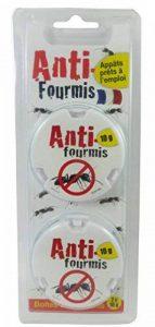 Florendi Jardin Lot de 2 Boîtes anti-fourmis - Blanc 9,7 x 17,5 x 23,5 cm de la marque Florendi Jardin image 0 produit