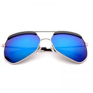 Fourmis Lunettes De Soleil Polarisées Grandes Lunettes De Soleil De Cadre Pour Les Hommes Et Les Femmes,Blue de la marque image 0 produit