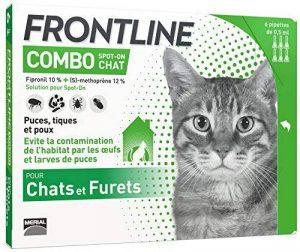 Frontline Combo Chat - Anti-puces et anti-tiques pour chat - 6 pipettes de la marque Frontline image 0 produit