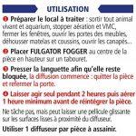 Fulgator - Fogger - Traitement Anti-Parasitaire Automatique 60m³ de la marque Fulgator image 1 produit
