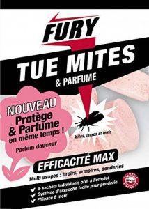 FURY - 5 sachets tue mites parfumes de la marque PROVEN ORAPI image 0 produit