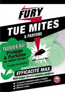 FURY - Anti-mites - 5 Sachets Grosses Billes Parfum Eucalyptus de la marque PROVEN ORAPI image 0 produit