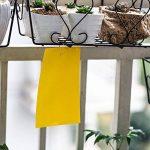G2Plus Lot de 10pièges jaunes engluées contre les mouches blanches, mouches des terreaux (sciaridae) et pucerons ailés 10 PCS 15*20CM de la marque G2PLUS image 4 produit