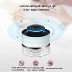 Gaeruite Lampe Anti-moustique LED, lampe électronique de tueur de moustique d'USB, répulsif de tueur de moustique de photocatalyst, lampe de trappe de lumière de LED Insecte de ménage tueur de mouche (Black) de la marque gaeruite image 3 produit