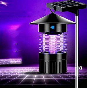 GAOYUN Lampe de moustique de choc électrique, lampe solaire de moustique de ménage, allumeur de moustique silencieuse sans rayonnement de double-utilisation de LED de la marque GAOYUN image 0 produit