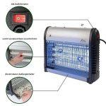Gardigo 62400 - Destructeur d'insectes volants; Désinsectiseur lampe UV Ultraviolet anti-insects, moustiques; Bac collecteur, chaîne de suspension de la marque Gardigo image 1 produit