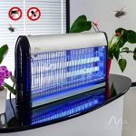 Gardigo 62403 - Destructeur d'insectes volants électrique; Pièges à moustiques; Lampe UV Anti-mites, mouches et moucherons; Désinsectiseur de la marque Gardigo image 1 produit