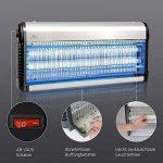 Gardigo 62403 - Destructeur d'insectes volants électrique; Pièges à moustiques; Lampe UV Anti-mites, mouches et moucherons; Désinsectiseur de la marque Gardigo image 2 produit