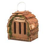 Gardigo Hôtel pour papillon | maison, abri à coccinelle abeilles et pour plusieurs insectes | en bois naturel | facile à suspendre - Idée cadeau Noël de la marque Gardigo image 1 produit