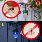 Gardigo - Piège à Mouche, Guêpes et Moustiques; Attrape Anti-Insectes, Frelons; Solaire avec Lumière LED - Set de 4 de la marque Gardigo image 4 produit