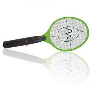 Gardigo Raquette électrique anti moustiques, anti-insectes, tue mouches et les insectes volants   testée et certifiée par Université d'État du Nouveau-Mexique de la marque Gardigo image 0 produit