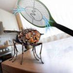 Gardigo - Set de 2 Raquettes électriques Anti-Moustiques, Anti-Insectes, Tue Mouches et Insectes Volants; Testée et certifiée par l'Université d'État du Nouveau-Mexique de la marque Gardigo image 2 produit