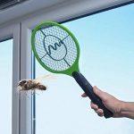 Gardigo - Set de 2 Raquettes électriques Anti-Moustiques, Anti-Insectes, Tue Mouches et Insectes Volants; Testée et certifiée par l'Université d'État du Nouveau-Mexique de la marque Gardigo image 4 produit