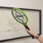Gardigo Set de 3 Raquettes électriques anti moustiques, anti-insectes, tue mouches et les insectes volants | testée et certifiée par l'Université d'État du Nouveau-Mexique de la marque Gardigo image 6 produit
