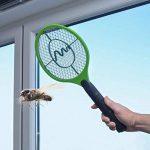 Gardigo Set de 3 Raquettes électriques anti moustiques, anti-insectes, tue mouches et les insectes volants | testée et certifiée par l'Université d'État du Nouveau-Mexique de la marque Gardigo image 5 produit