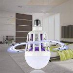 GHC LED Lights, 9W électronique moustique tueur ampoule lumière de nuit E27 LED ampoule 9W répulsif mouche insecte tueur piège lampe de nuit (1pcs) de la marque GHC-CASES-21 image 4 produit