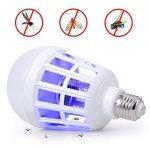 GHC LED Lights, 9W électronique moustique tueur ampoule lumière de nuit E27 LED ampoule 9W répulsif mouche insecte tueur piège lampe de nuit (1pcs) de la marque GHC-CASES-21 image 1 produit