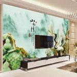 GK-Simple mur de style européen Chambre Fond d'écran de fond DécorationBedroom3D sculpture murale anti-mites antibactérien sans couture tissu non-tissé bruit absorption antifouling antistatique humidité fond d'écran , picture color de la marque GK Wallpap image 2 produit