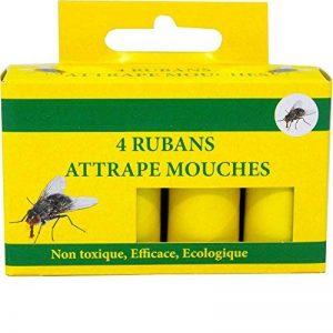 Générique Ruban attrape mouches, collant tue mouches, boite de 4 rubans de la marque Générique image 0 produit