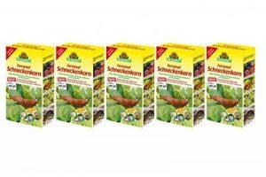 Grain de hélicide 5x ferramol 1kg limaces d'agit contre les légumes, fraises et plantes ornementales de la marque Neudorff image 0 produit